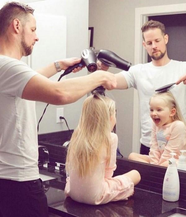 ایده های عکاسی پدرانه با کودک