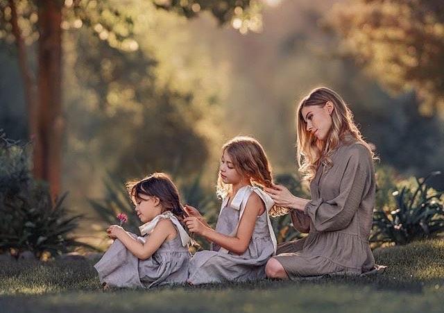 ایده های عکاسی کودک همراه با مادر