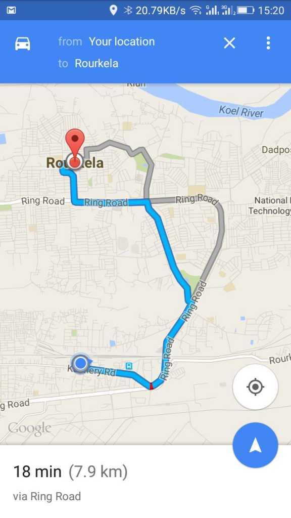روش ذخیره Google Maps