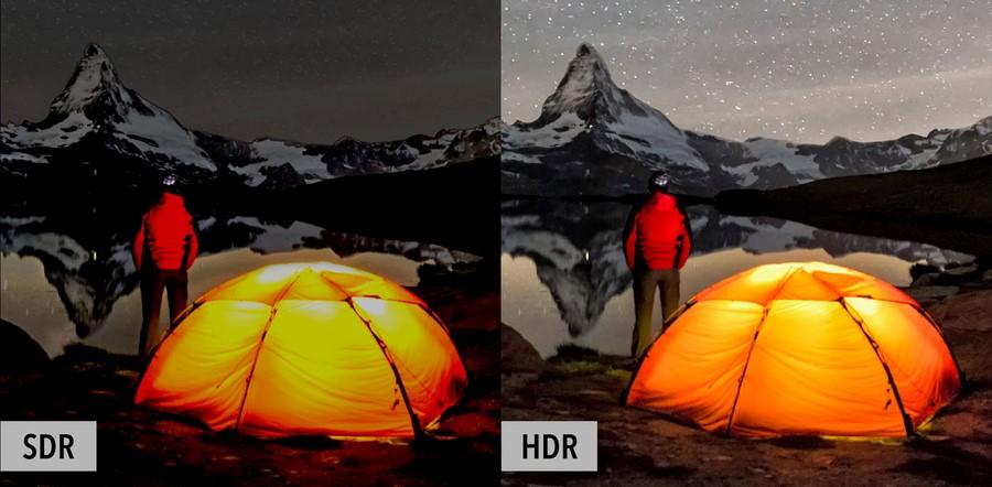 با موبایل خود HDR تصویر برداری کنید
