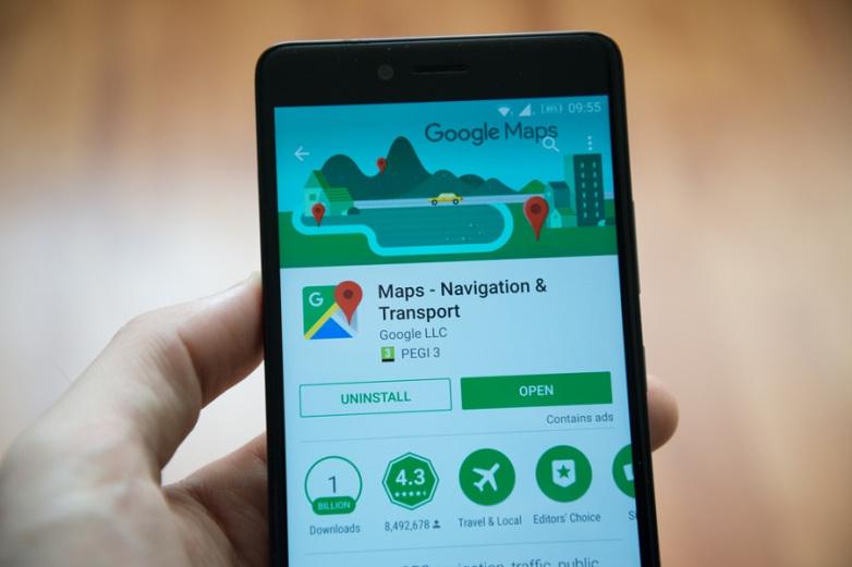 نقشه های آفلاین google map در اندروید