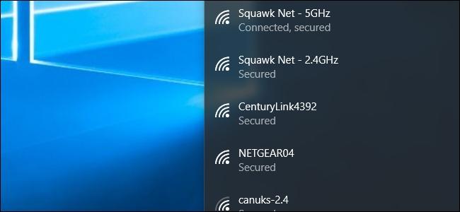 تغییر اولویت شبکه های WiFi در ویندوز 10