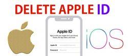 حذف اپل آیدی از آیفون و iPad