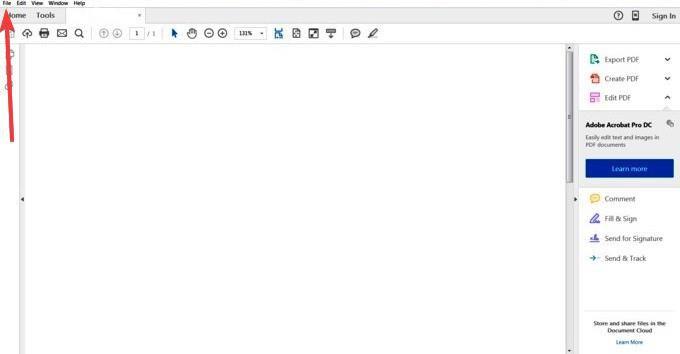 ویرایش فایل PDF با استفاده از Adobe Acrobat