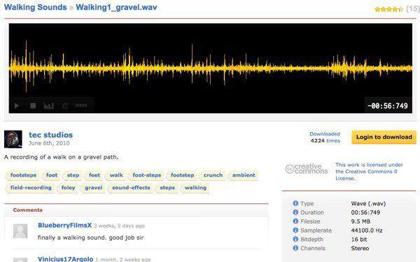 دانلود افکت های صوتی با FreeSound