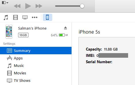 روش های مشاهده شماره IMEI آیفون