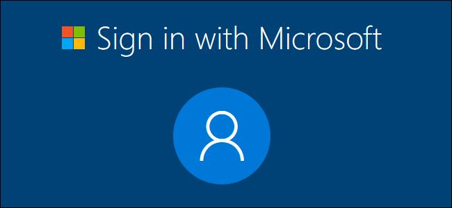 حذف اکانت مایکروسافت از ویندوز 10