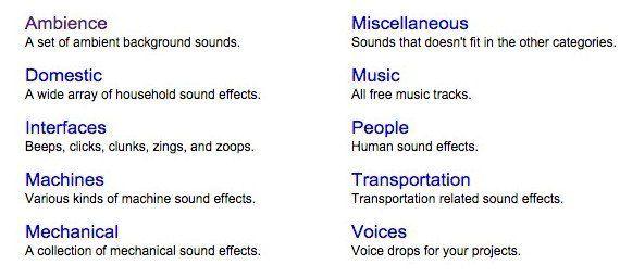 دانلود افکت های صوتی با PacDV