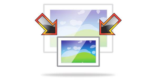 تغییر اندازه گروهی تصاویر در ویندوز 10