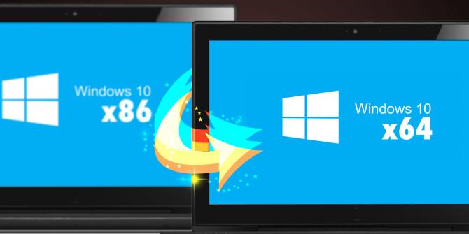 ارتقا ویندوز 10 از 32 بیتی به 64 بیتی