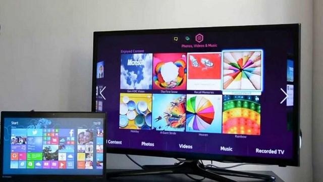 اتصال ویندوز 10 به تلویزیون بدون کابل