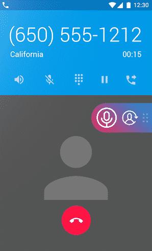 ضبط تماس واتس اپ