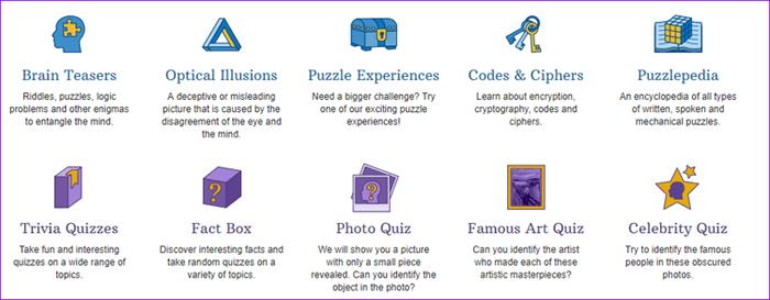 بازی های فکری و ذهنی آنلاین