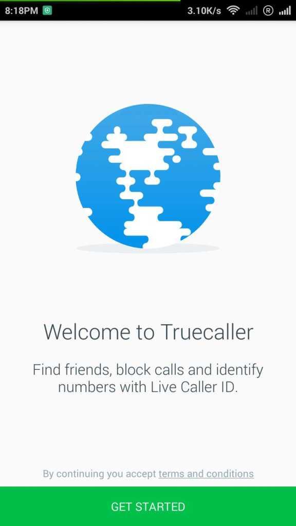 Truecaller برای اندروید