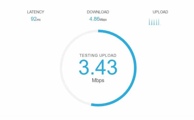 سایت های تست سرعت اینترنت