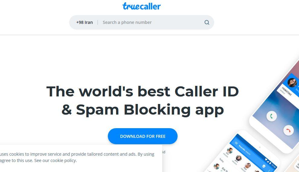 سایت Truecaller