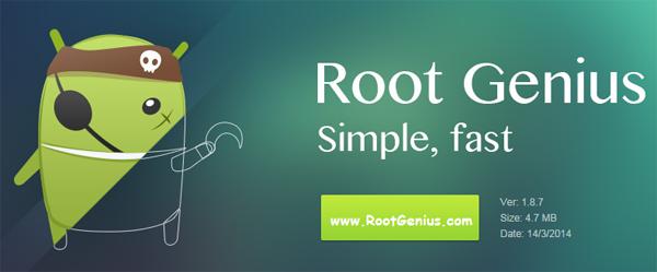 روت اندروید با استفاده از Root Genius