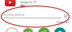 خطای بارگیری در حالت تعلیق گوگل پلی