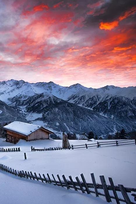 ایده های عکاسی در زمستان و برف