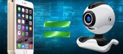تبدیل دوربین آیفون به وب کم کامپیوتر و MAC