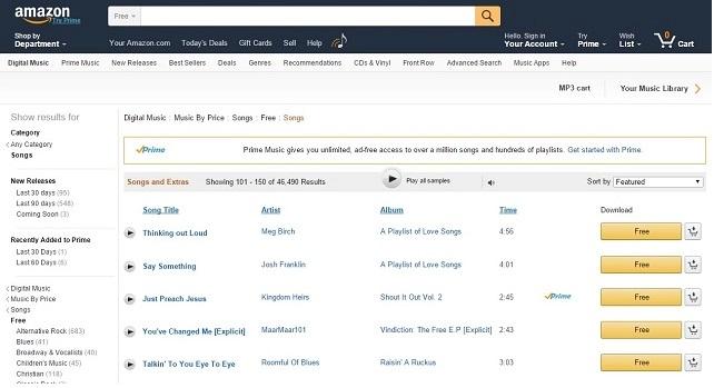 دانلود موزیک خارجی و ایرانی از سایت Amazon-MP3