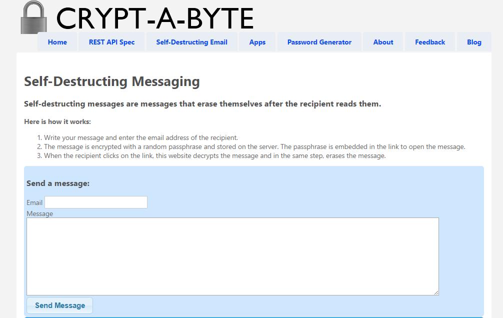 Crypt-byte
