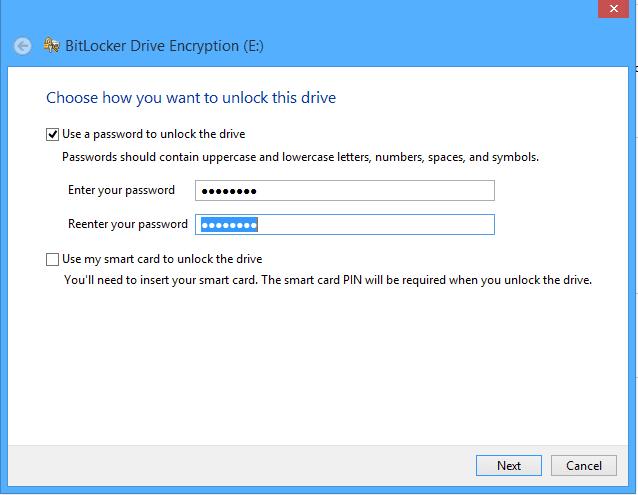 نحوه رمزگذاری درایو با استفاده از BitLocker