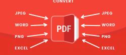 تبدیل فایل های PDF