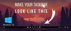 نحوه مرکز کردن آیکون های Taskbar در ویندوز ۱۰