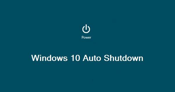 خاموش کردن خودکار ویندوز 10