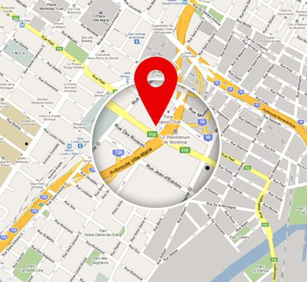 گوگل مپ برای وردپرس