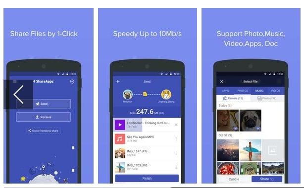 4 Share Apps – File Transfer