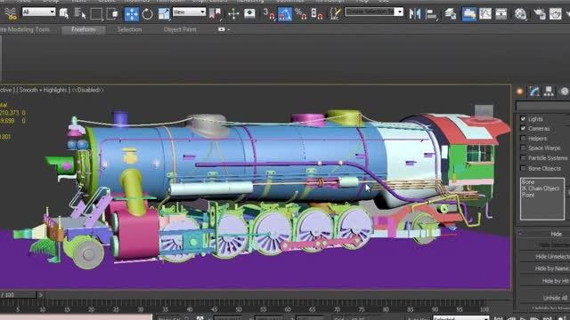 تکنیک های مدل سازی در نرم افزار 3DS MAX