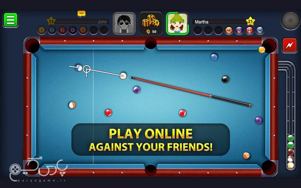بازی اندرویدی8 Ball Pool