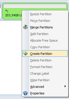 با استفاده از AOMEI Partition Assistant