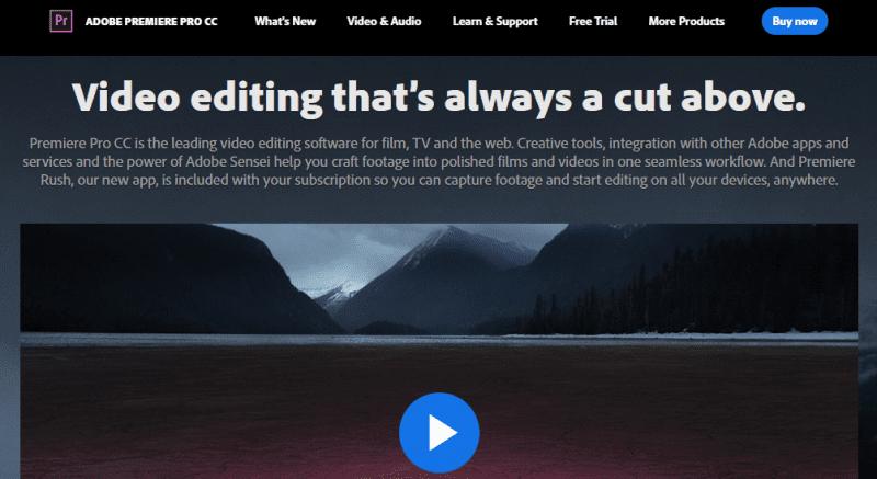 نرم افزار ویرایش ویدیو YouTube با Adobe Premiere Pro