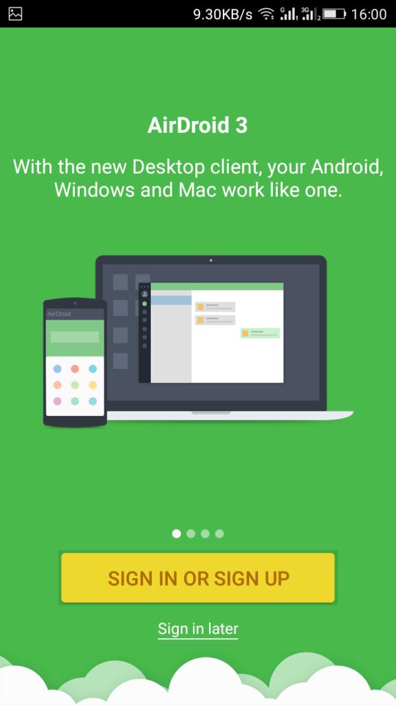 تماس اندروید با کامپیوتر با استفاده از Airdroid