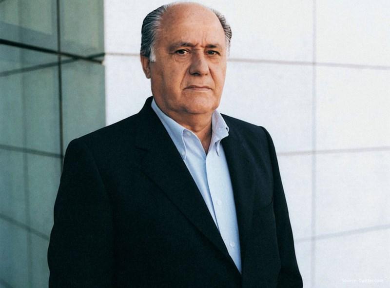 آمانسیو اورتگا (Amancio Ortega)