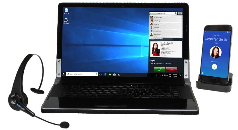 نحوه دریافت و برقراری تماس اندروید با رایانه Windows