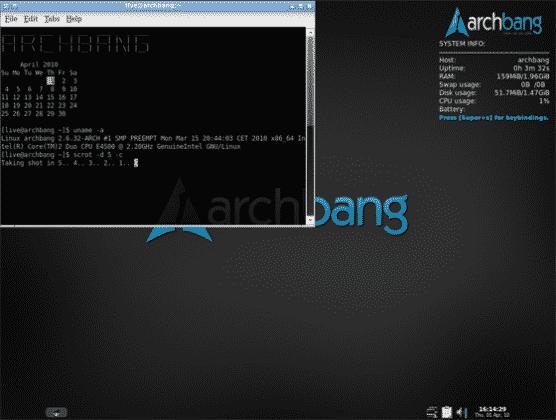 دانلود نسخه های سبک لینوکس - ArchBang