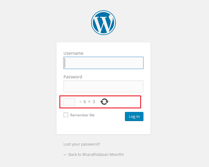 افزونه Captcha by BestWebSoft