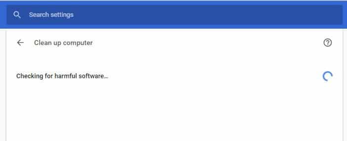 حذف بدافزار با گوگل کروم