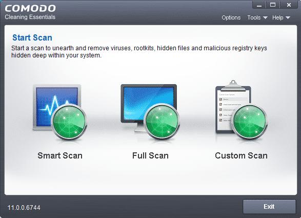 آنتی ویروس پرتابل - Comodo Cleaning Essentials