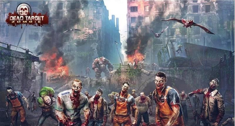 بهترین بازی های زامبی - DEAD TARGET: Zombie