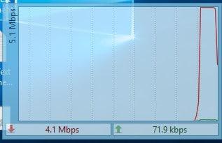 نمایش سرعت سنج اینترنت در Taskbar
