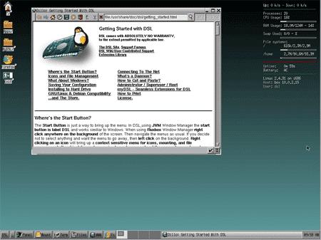 دانلود نسخه های سبک لینوکس - Damn Small Linux