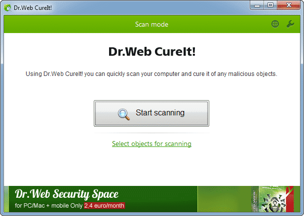 آنتی ویروس پرتابل - Dr.Web CureIt