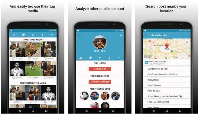 Follower Analyzer for Instagram App