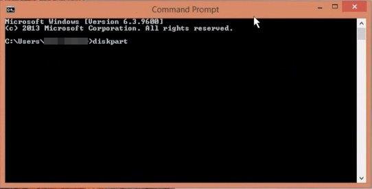 فرمت کارت حافظه خراب و سوخته با CMD