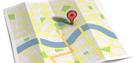 استفاده از برنامه های GPS